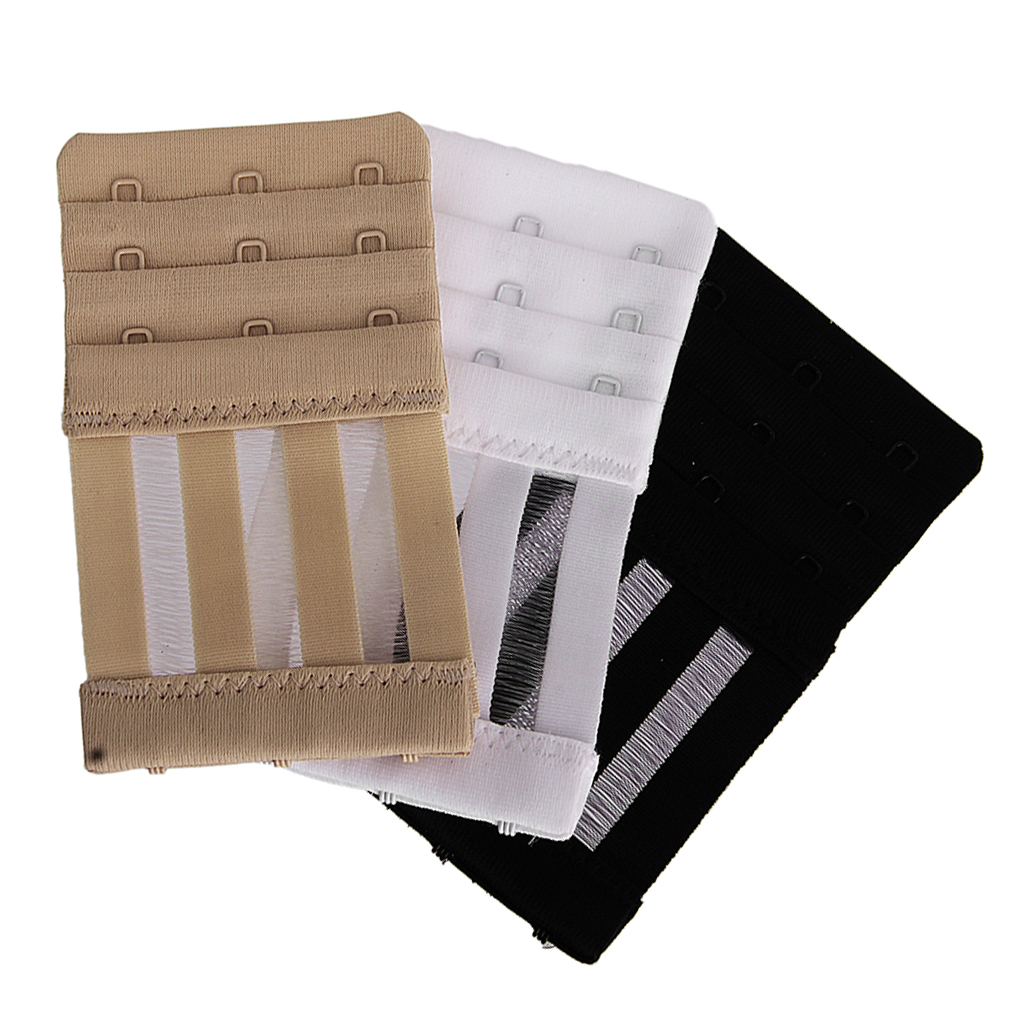10pcs 5pcs Bra Extender 2 Hooks 3 Hooks Sexy Women Bra Back Extension Band Buckles Straps Set