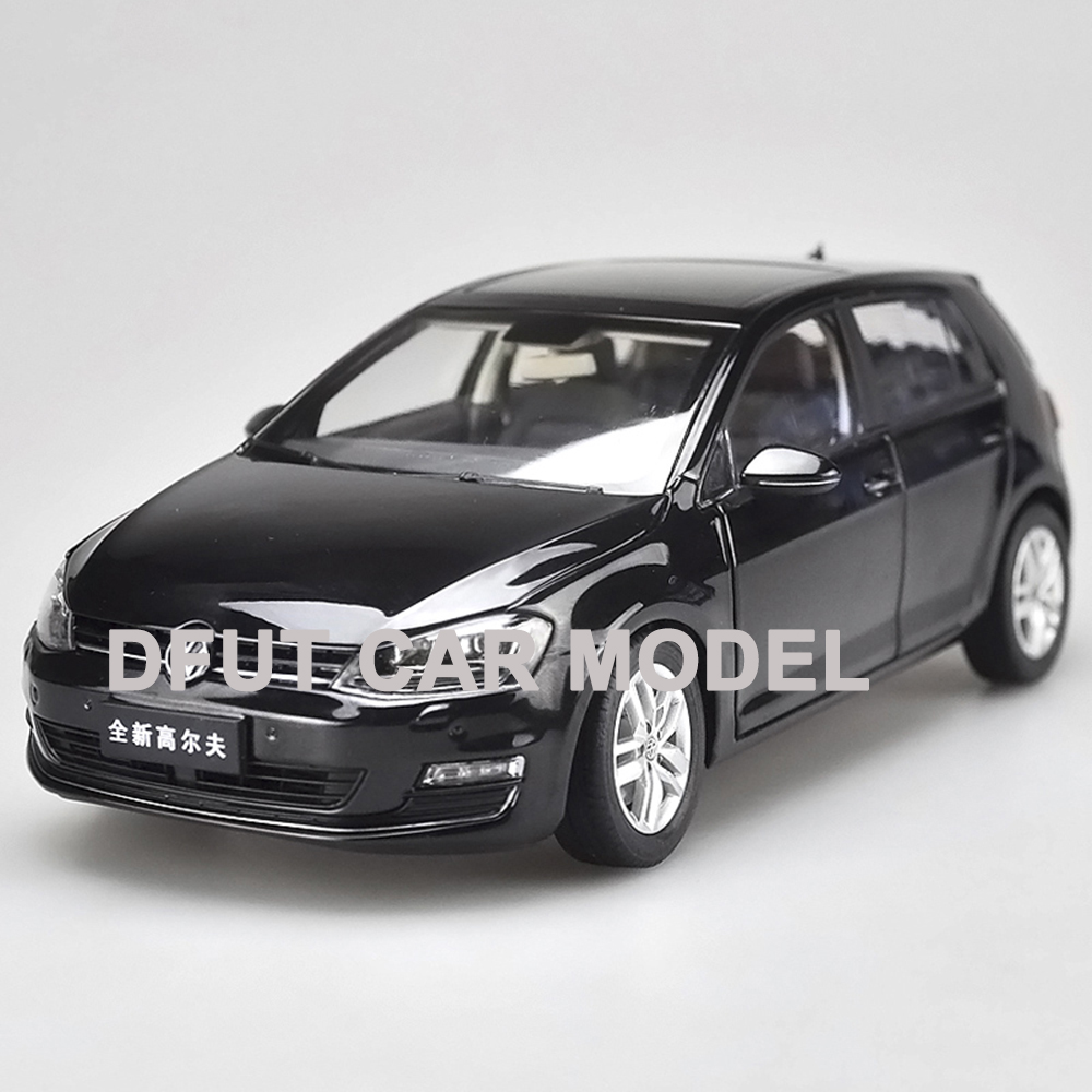 Diecast Scale 1:18 Alloy Car Golf 7 Model Color Box Package Toys For Kids Children Gift And For Collection