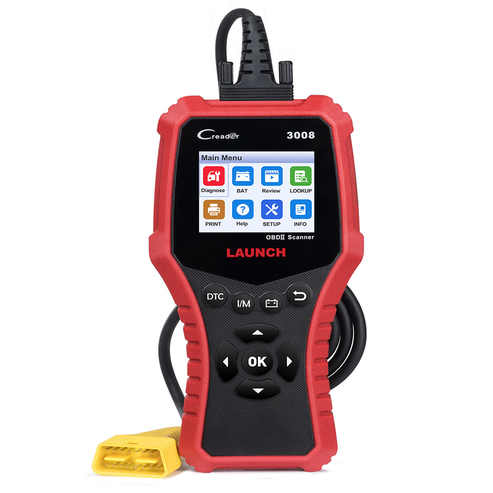 STARTEN X431 CR3008 Creader OBD2 OBDII Auto Scanner CR3008 OBD 2 Motor Code Reader kostenloser software update 3008 auto Diagnose werkzeug - 5