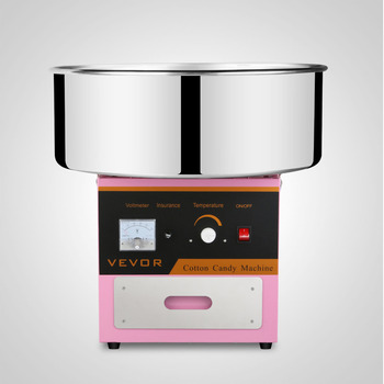 Brand New Commercial Electric Cotton Candy Machine Floss Maker Pink