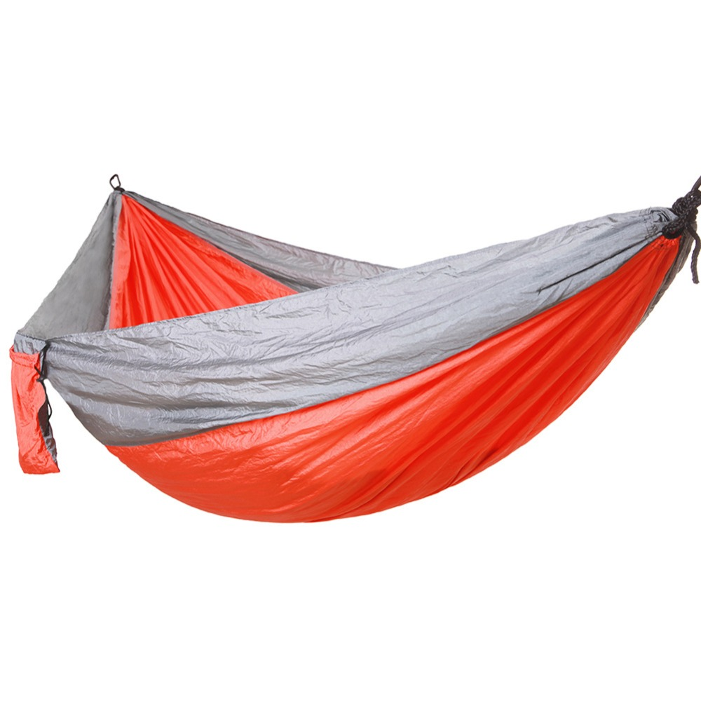 Oversize Double Hammock Adult Outdoor Backpacking Travel Survival Hunting Sleeping Bed Portable. 260x140Oversize Double Hammock Adult Outdoor Backpacking Travel Survival Hunting Sleeping Bed Portable. 260x140