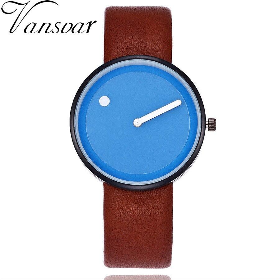 Dropshipping Style Minimaliste Montres-bracelets Design Créatif Point et Ligne Simple Visage Quartz Montres Cadeau Horloge Relogio Feminino