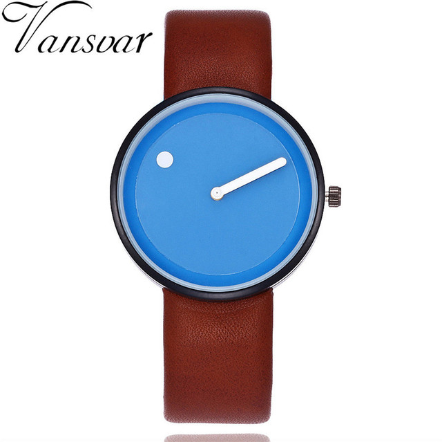 Dropshipping Minimalist Style Wristwatches Creative Design Dot and Line Simple F
