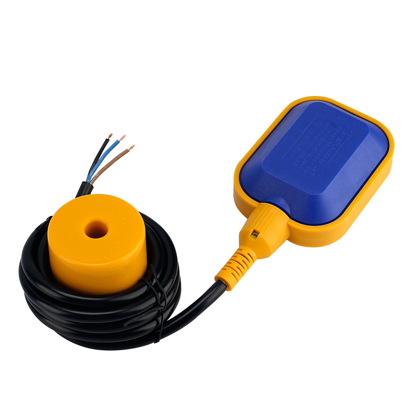 ELECALL EM15-N Controller Float Switch Liquid Fluid Water Level Float Switch Controller Contactor Sensor 2m-5m cable
