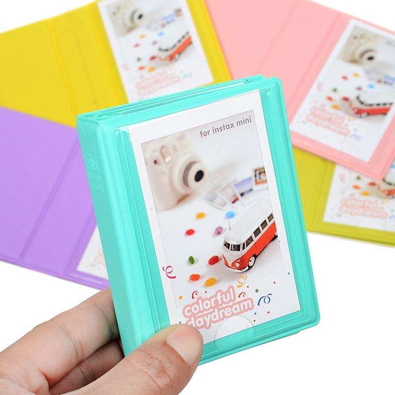 Cute Mini Holds 28 Photos Fujifilm Instax Mini Camera Album Photo Album for Mini Fuji Instax & Name Card 7s 8 25 50s