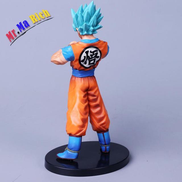 Ball Z Super Saiyan Vegeth & Son Goku1: 8 Dipinte Figura Dxf Il Guerrieri Vol.4 Vegetto Action Pvc Figure Toy 20 Cm