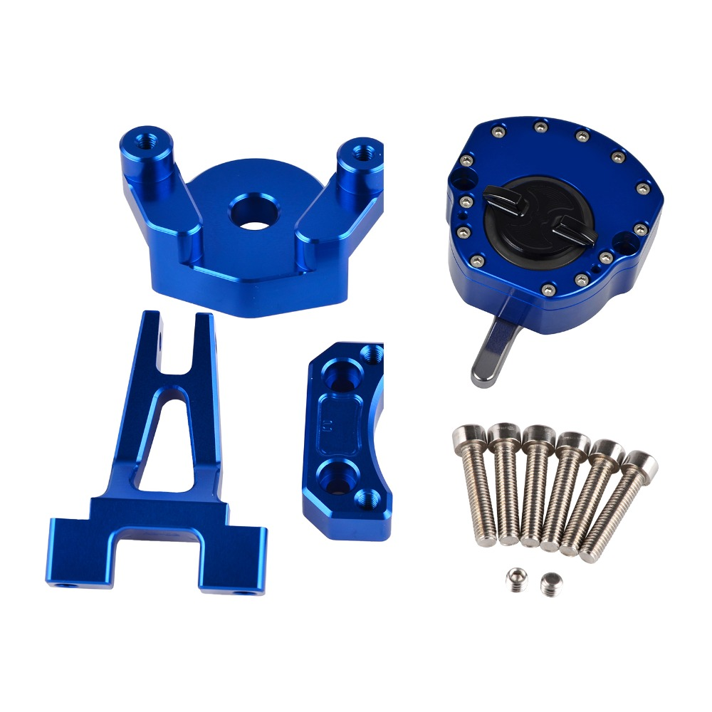 NICECNC moteur stabilisateur amortisseur Support Support Kit pour Yamaha YZF-R3 YZFR3 YZF R3 YZF-R25 YZFR25 YZF R25 2014 2015 2016