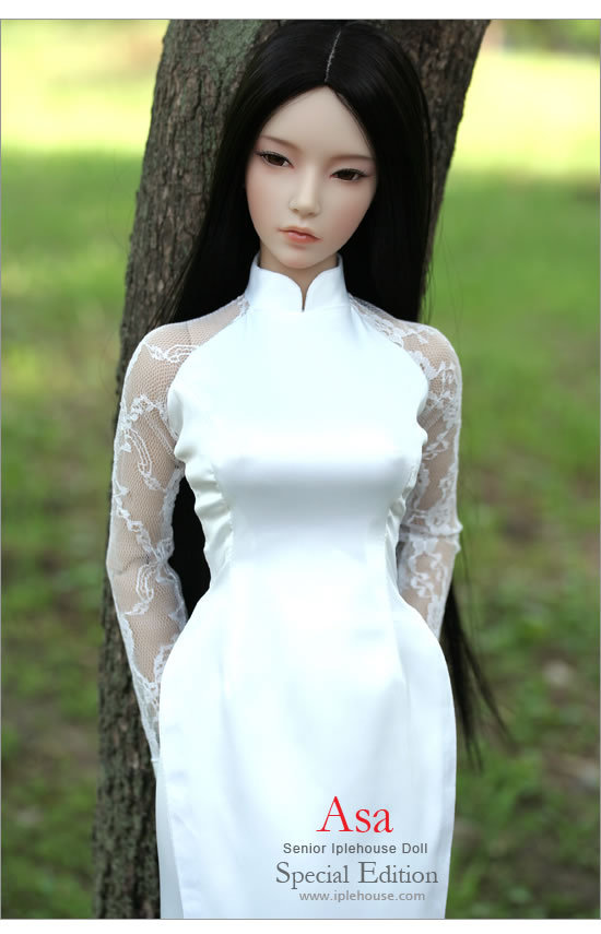 Bjd Sd Doll Baby Girl Doll 65Cm Big Asa Kee Gown Version -5773
