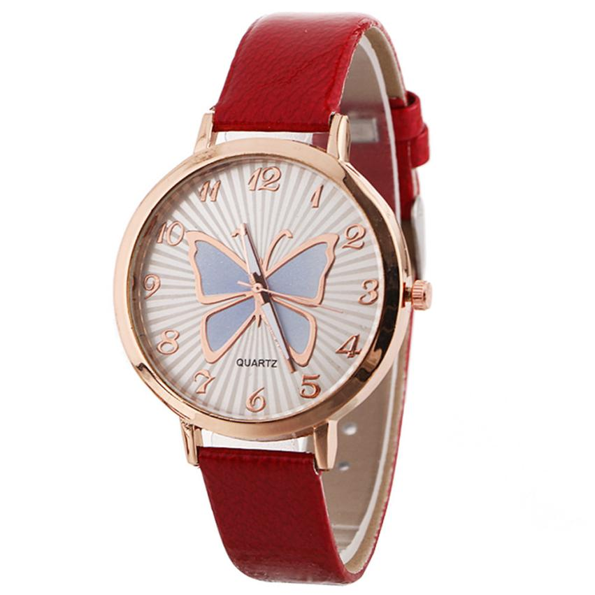 Analytisch 2017 Nieuwe Mode Vrouwen Patroon Quartz Horloge Lederen Band Riem Tafel Horloge Klok Felogio Relogio Feminino Hoge Kwaliteit M50 Factory Direct Selling Prijs