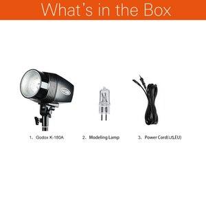 Image 2 - Godox K 180A 180 W Mini Master Studio Strobe Foto Compact Flash Licht Lampe