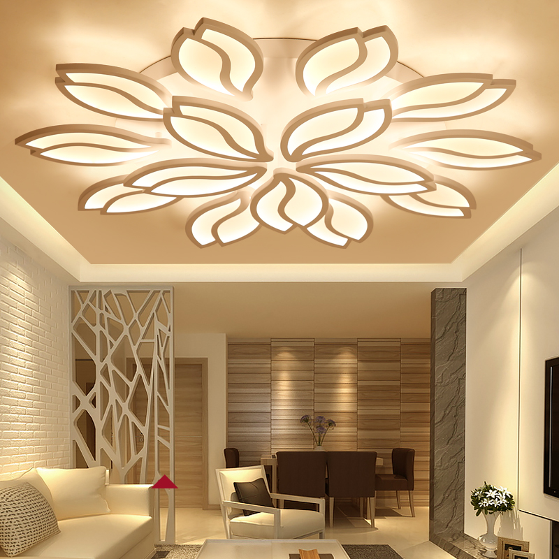 Здесь продается  New LED Ceiling Lamp Simple Modern LED Ceiling Light For Living Room Bedroom Acrylic Ceiling Lamp LED Indoor Lighting fixtures  Свет и освещение