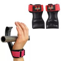 Leather Weight Lifting Sports Gloves For Kettlebell Gym Gloves Weights Workout Wrist Straps Fitness Powerlifting Gym Equipment