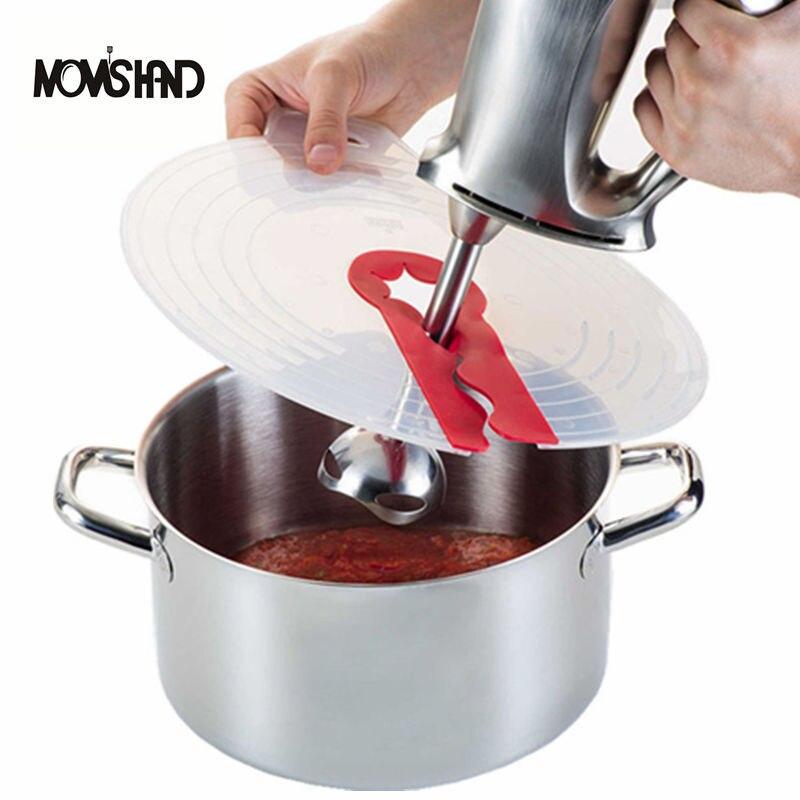 MOM'S mano cocina utensilios de cocina huevo tazón batientes cubierta de pantalla para hornear tapas de tazón de protección contra salpicaduras
