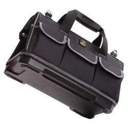 Large Capacity Tools Bag Thicken Waterproof Oxford Cloth Hardware Toolkit Multifunction Backpack Shoulder Strap Bag Repair Tool