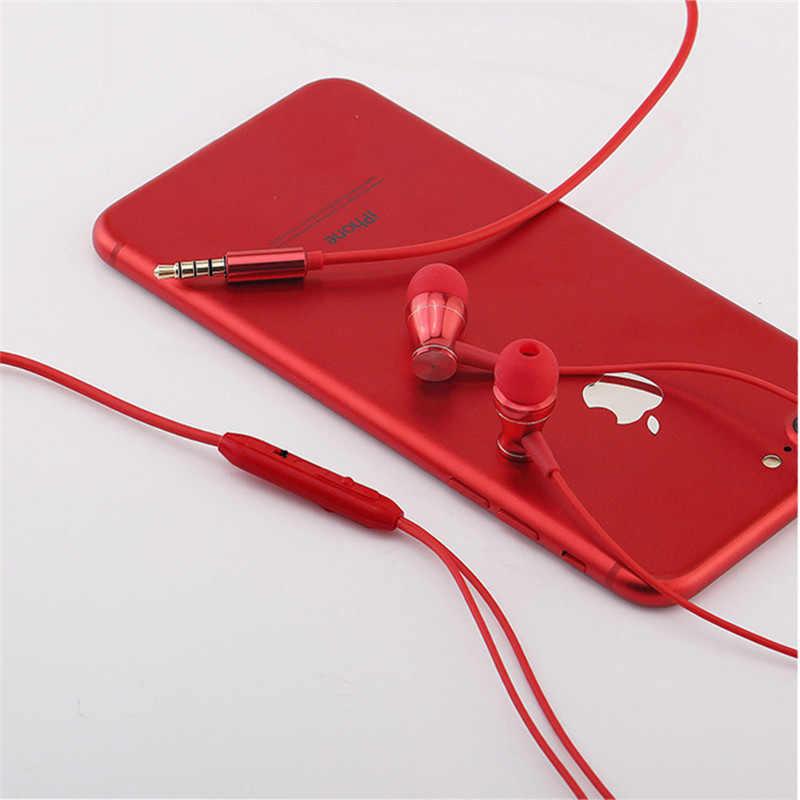 5 colors In-Ear Tai Nghe Đặc Biệt Phiên Bản Tai Nghe Rõ Ràng Bass Với Microphone Earbud đối với iPhone Xiaomi Android Điện Thoại