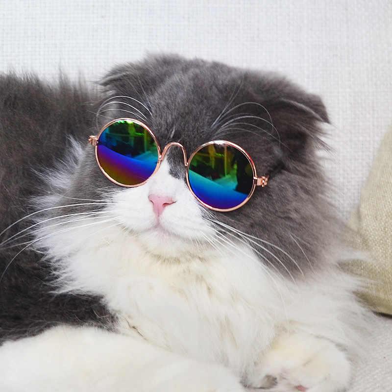 Thời Trang thoáng mát Thú Cưng Kính Mèo Con Chó Nhỏ Kính Mát Mắt khi đeo Kính Mát Puppy Ảnh Chống Đỡ Đồ Thú Cưng Phụ Kiện Nhỏ chó