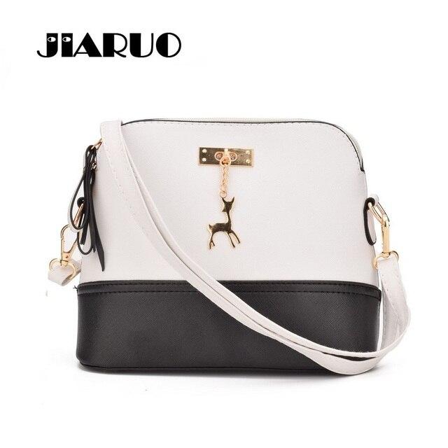 JIARUO Small Shell Crossbody bag For Women 2017 Handbag And Purses Hard Shoulder  Messenger bags Shopper Cheap Women Hand bag 9d6f796cece59