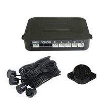 simple BIBIBI alert buzzer Car Parking sensor 4 sensors+ Buzzer Backup Radar Car Detector System Reverse