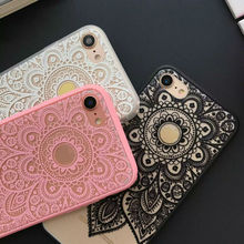 Lace Mandala Print Cases for iPhone