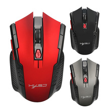 2.4Ghz wireless USB gaming mouse Adjustable portable usb Optical 2400DPI Professional Mice For PC Laptop Games