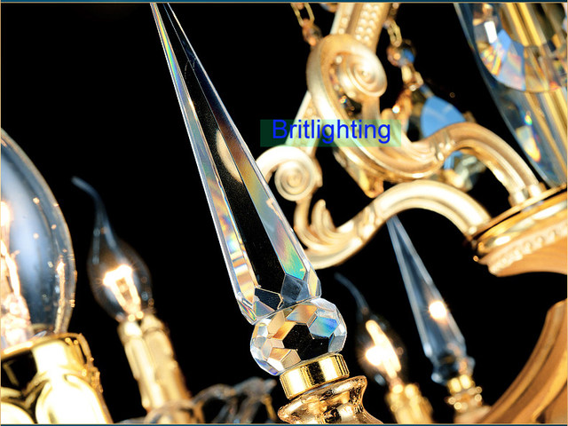 Elegante Kristall Kronleuchter Zeitgenössische Und Moderne Kristall  Kronleuchter Küche Insel Licht Antike Bronze Kronleuchter Lampen
