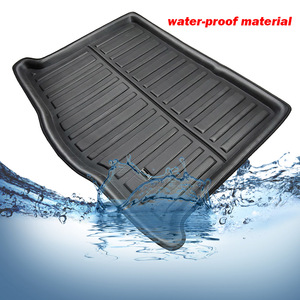 Image 4 - Car Boot Liner Cargo Tray For Ford Focus MK4 4 MKIV Hatch Hatchback 2019 2018 Boot Rear Trunk Floor Mat Carpet Accessories