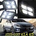 2015 ~ 2016 KIA K5 дневного света, kia rio, sorento, Свободный корабль к вашей двери! LED KIA k5 противотуманные фары kia ceed, 2 шт./компл.; kia k3; kia cerato