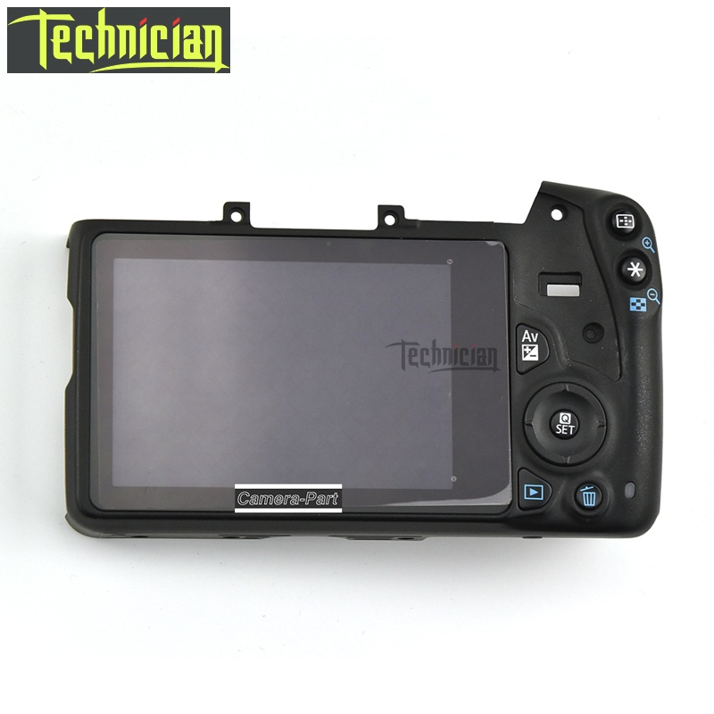 100D Rear Back Cover With LCD And Buttons Flex Cable Camera Replacement Parts For Canon