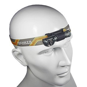 Image 4 - Manker E02H AAA Headlamp 220 lumen CREE XPG3 / CRI Nichia 219C LED Torchlight with Headband Pocket Mini Flashlight with Magnet