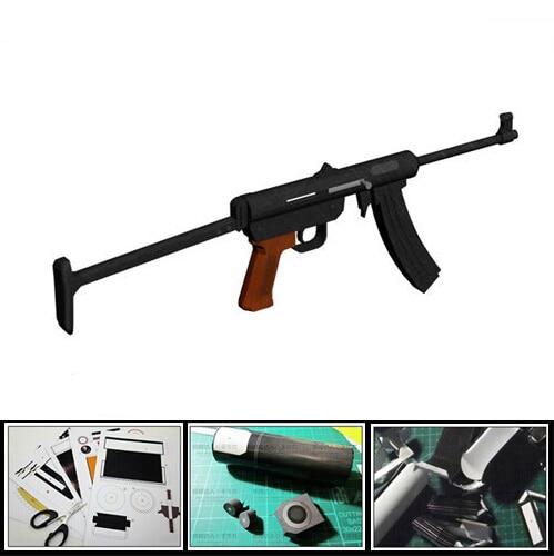 3D Paper Model Gun Type 85 Submachine Gun Handmde DIY Weapon Toy For Cosplay