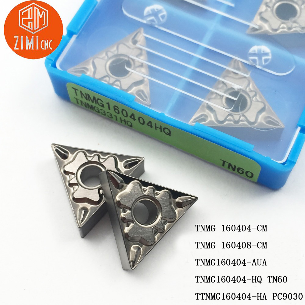 TNMG160408-CM Threading Carbide Inserts Cutting tool For Lathe CNC 10P