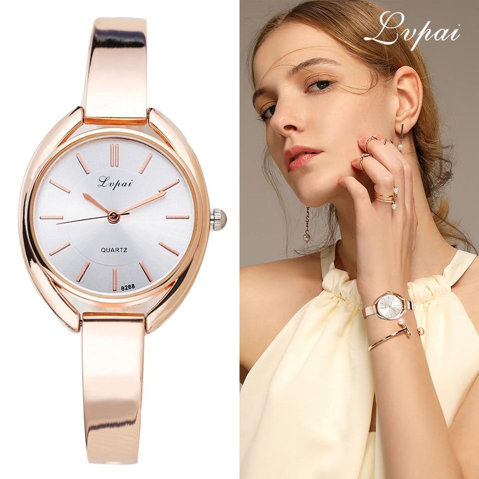 Lvpai Brand Luxury Women Armband Klockor Mode Kvinnor Klänning - Damklockor
