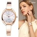 Lvpai de la marca de lujo de las mujeres relojes de pulsera de moda vestido de mujer reloj de pulsera de cuarzo de señoras deporte reloj de oro rosa dropshipping LP025