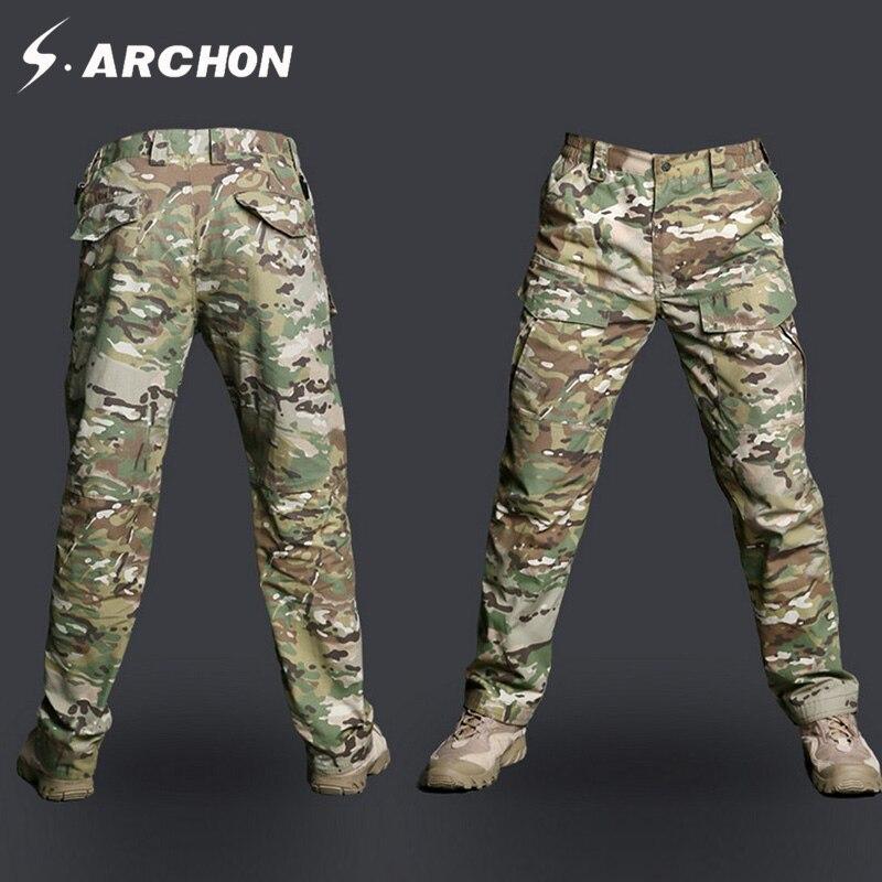 s.archon M2 Taktinės kamufliažo armijos kelnės Vyrams - Vyriški drabužiai - Nuotrauka 2