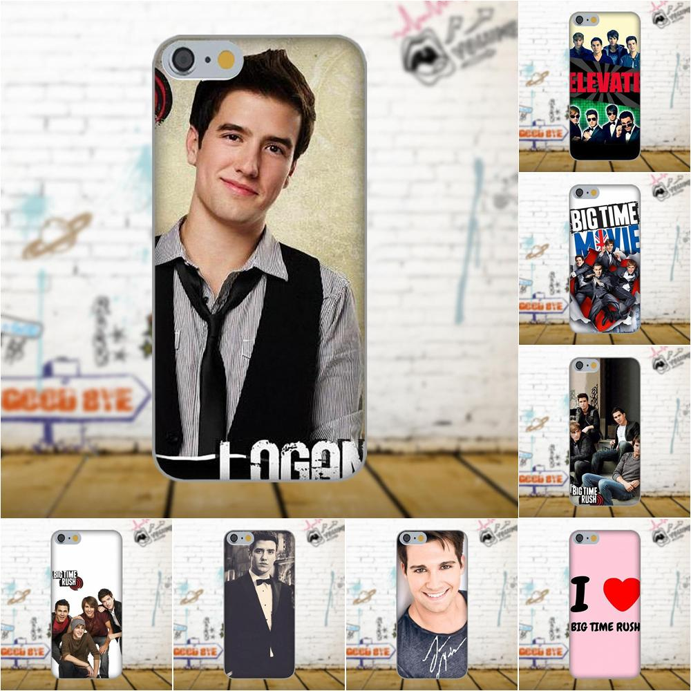 Btr Big Time Rush Soft Cases Cover For Apple iPhone 4 4S 5
