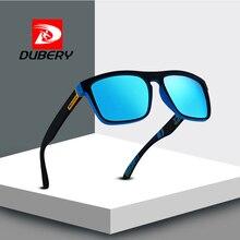 DUBERY marca diseñador polarizado gafas de sol hombres mujeres de calidad  superior Retro cuadrados gafas de sol moda HD vidrios . a1a1faa82a6f