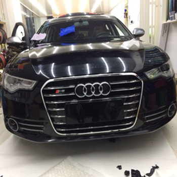 For Audi A6 C7 RS6 S Line S6 Style Chrome frame black Front Bumper Grill Grille car accessories 2012~2015 grille