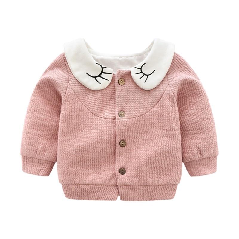 Clothing Coat Cardigan Newborn-Baby Infant Autumn Girls Winter Sweater Knit 1-4-Years