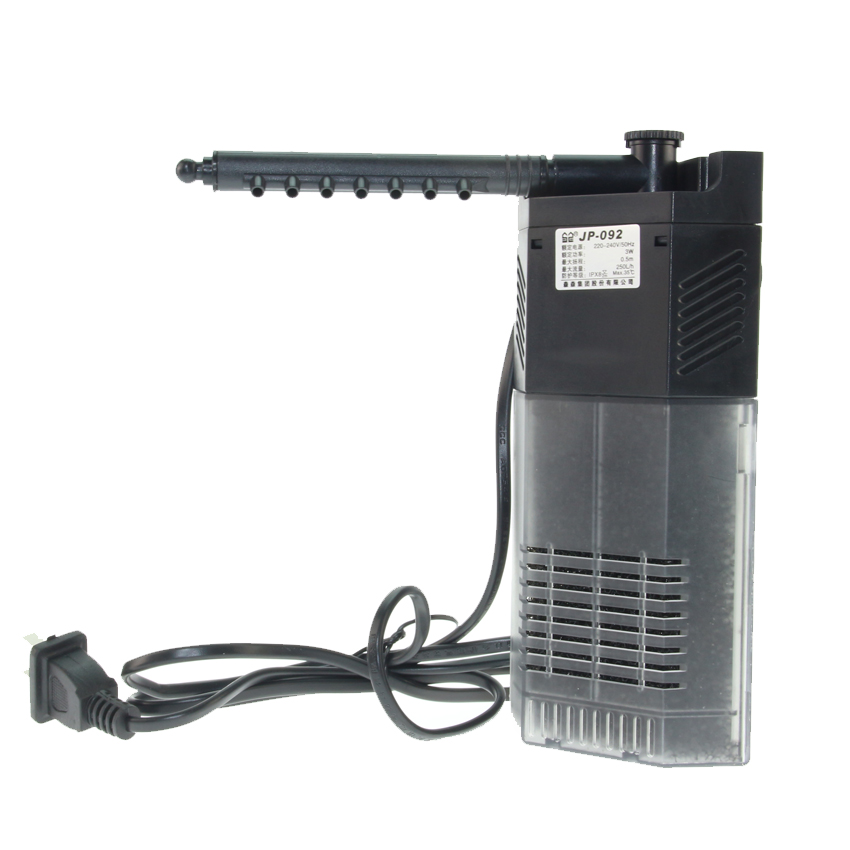 sunsun 220V Aquarium oxygen pump filter pump Submersible Pump 3w/5w/7w