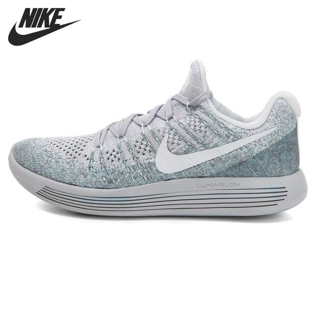 6de3d53ac0c8c Asli Baru Kedatangan Nike Lunarepic Rendah Flyknit 2 Sepatu Pria di ...