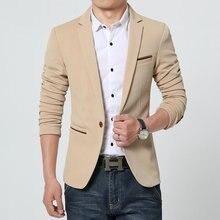 Мужская Корея Slim Fit Модные Пиджаки для женщин пиджак мужской размер casualplus M-6XL пальто свадебное платье черный, серебристый цвет бежевый цвет красного вина