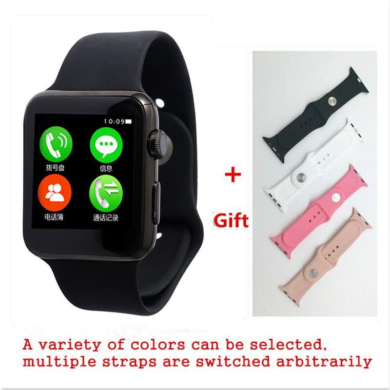 imágenes para Smart watch iwo 1:1 mtk2502c bluetooth para iphone ios y xiaomi huawei android samsung sony teléfono