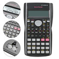 Handheld Student's Scientific Calculator 2 Line Display 82MS-A Portable Multifunctional Calculator for Mathematics Teaching