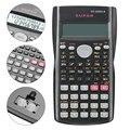 De estudiante calculadora científica Línea 2 pantalla portátil multifuncional calculadora para enseñanza de las matemáticas