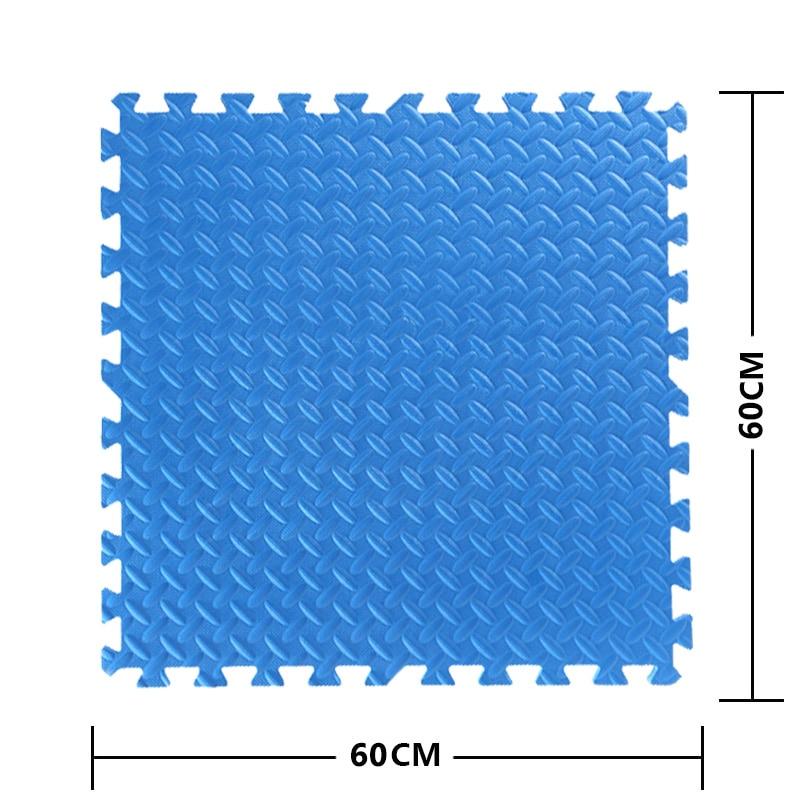 JCC mélange feuille motif Puzzle EVA mousse bébé tapis de jeu/enfants tapis de verrouillage exercice plancher pour enfants carreaux 60*60*1.2 cm - 6