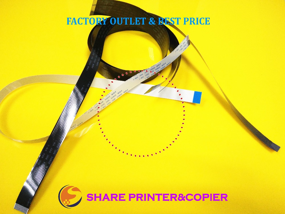 SHARE 1 Set Cable Kit CE538-60106 ADF CABLE Cable Button Control Panel Scan Cable  For HP M1536 P1566 P1606 CP1525 415 M175A