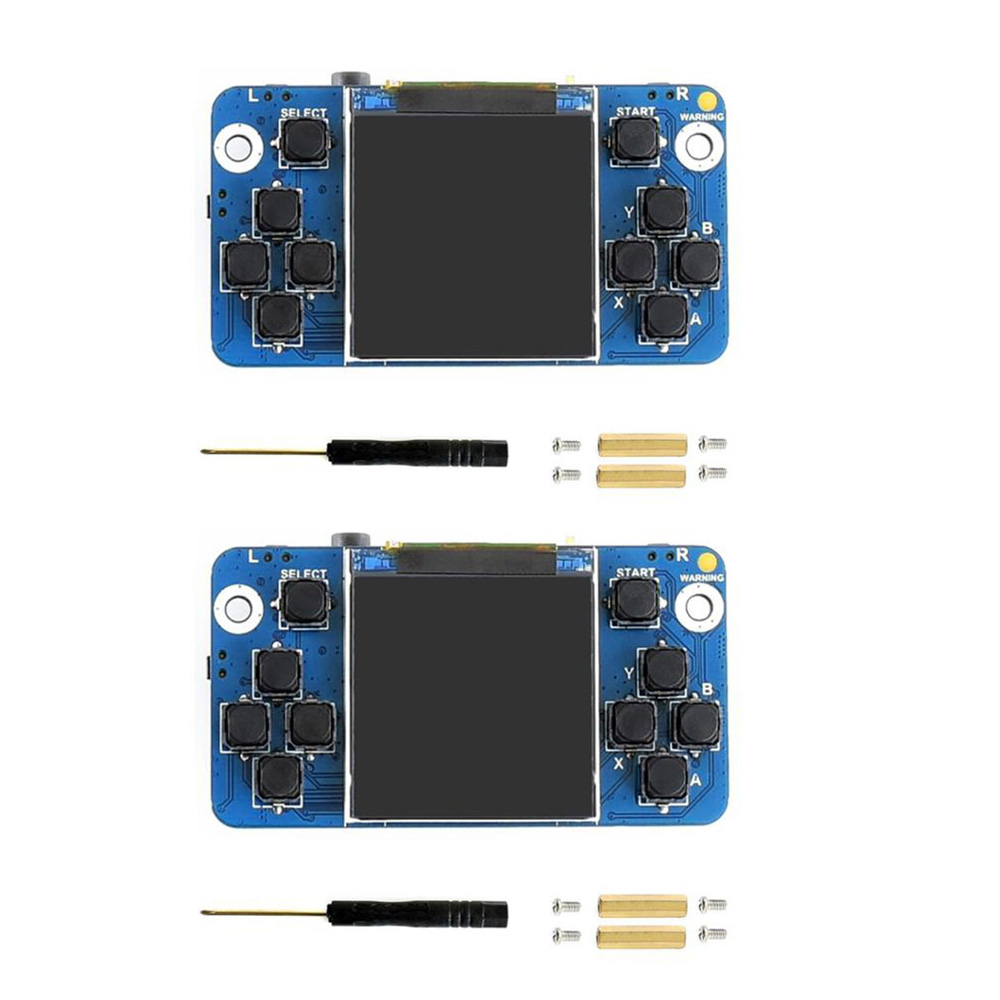 2Pcs/lot Waveshare 1.54inch Screen Tiny GamePi15 Designed 240×240 Resolution For Raspberry Pi, Good Match For The Zero WS0022