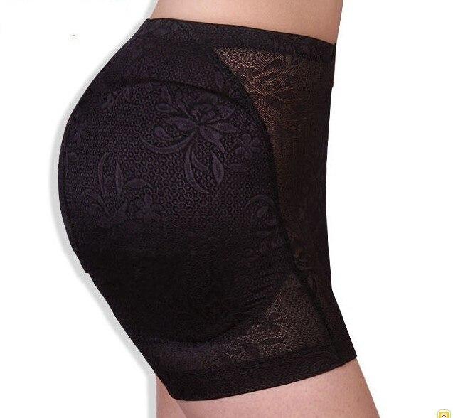 68e80aaccd1c2 Fashion lace seamless women panty Bottoms Up underwear pad butt panty  bottom pad hip panty Body