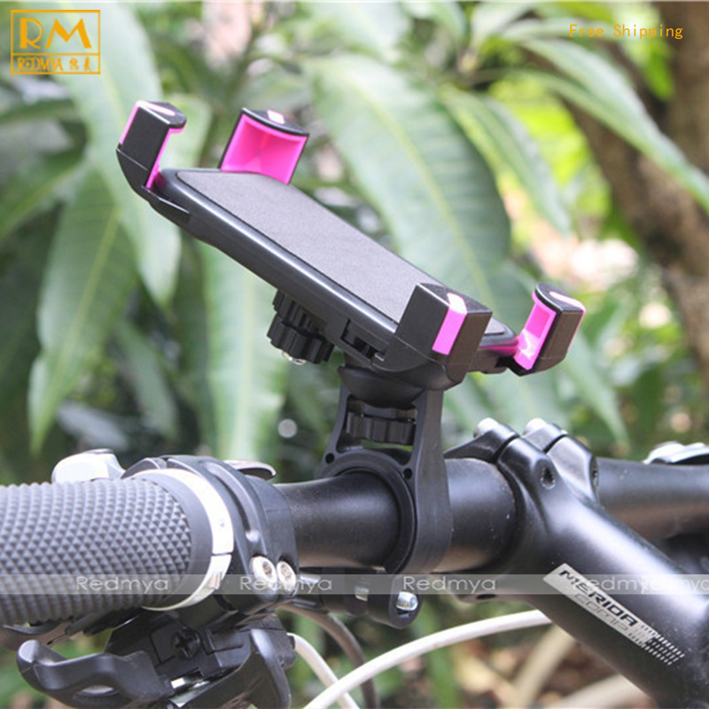 Bicycle Mobile Phone Stand Rack Universal Electric Motor Mountain Bike Cycling Mobile Phone Holder Clamp Mount For iPhone 6/7/8