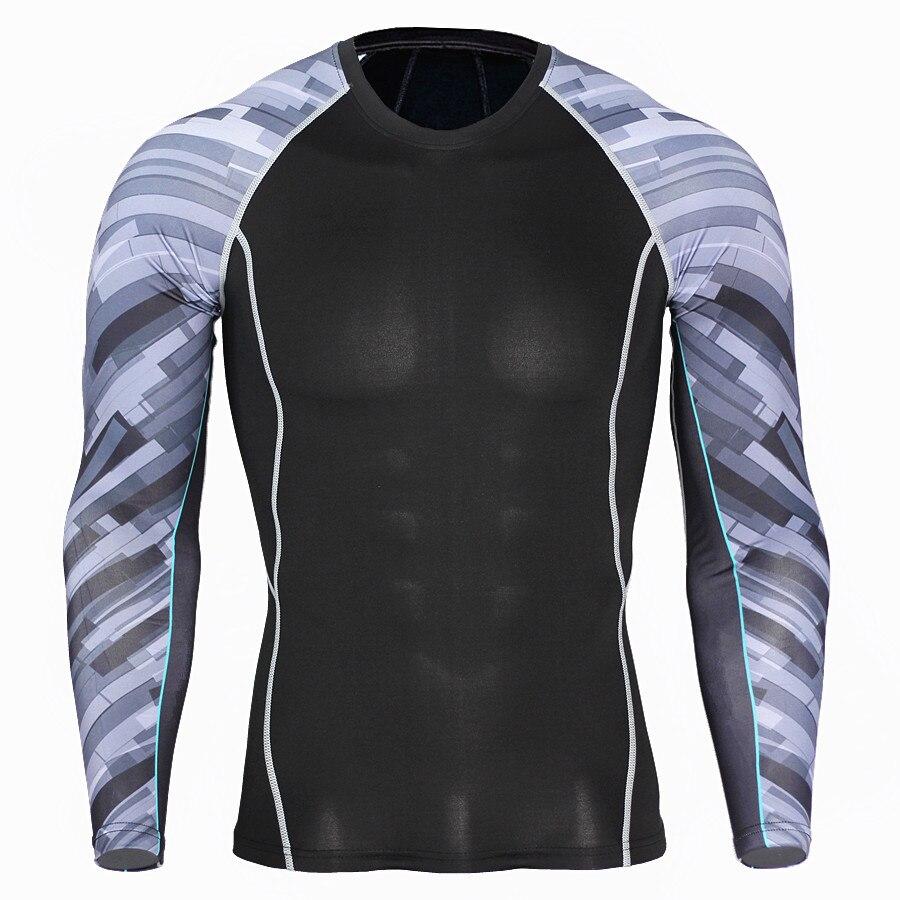 Sport schnell trocknende kleidung männer T-shirt läuft elastische ausbildung kompression kleidung
